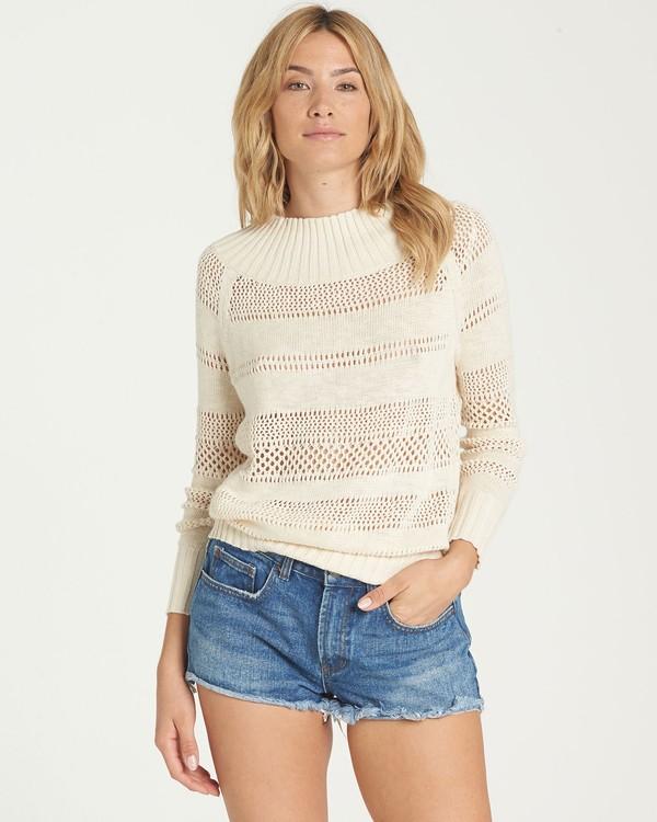 0 Snuggle Down Sweater White JV02NBSN Billabong