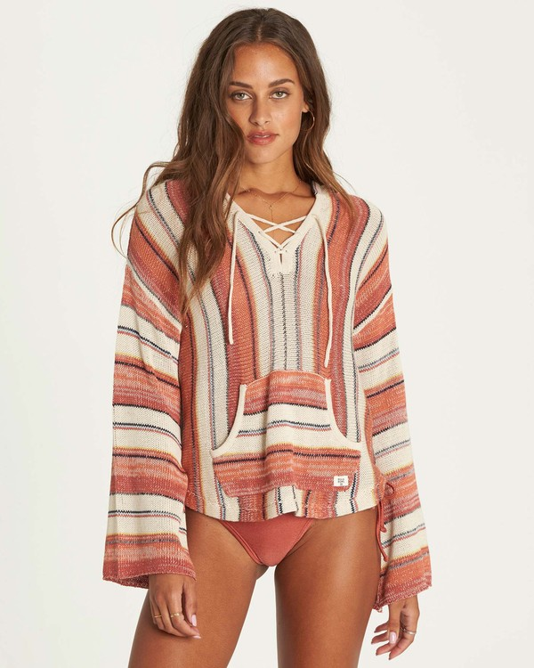 0 Baja Beach 2 Sweater Beige JV06NBBA Billabong