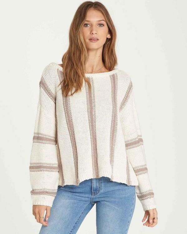 0 Calm Seas Sweater Brown JV07QBCA Billabong