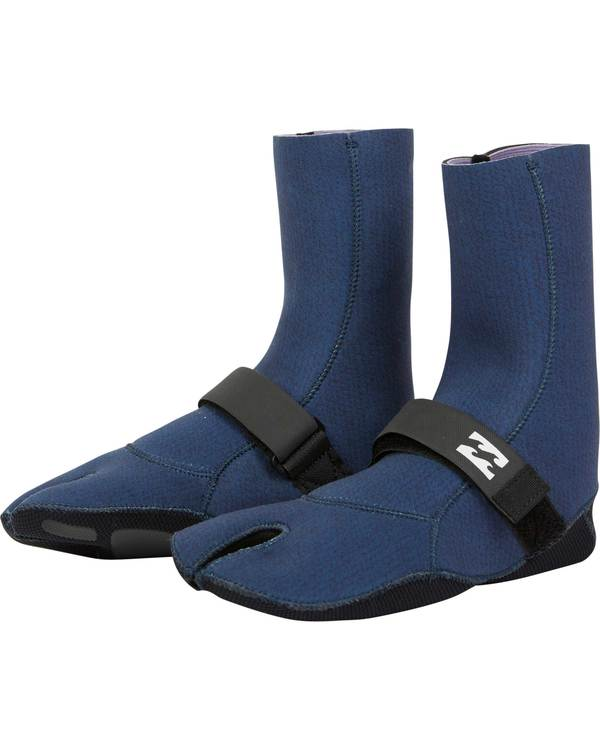 0 5mm Salty Daze Wetsuit Boot Blue JWBOQBD5 Billabong