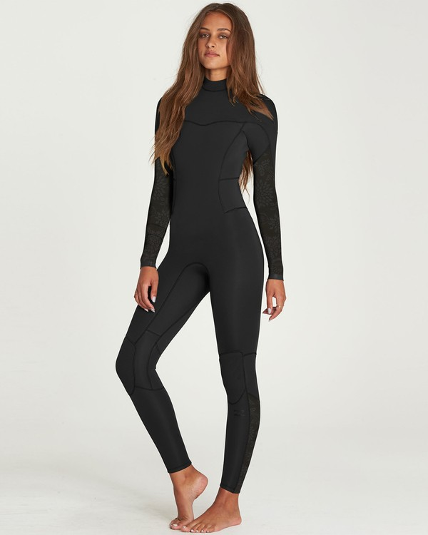 0 3/2 Synergy Back Zip Fullsuit  JWFUNBB3 Billabong