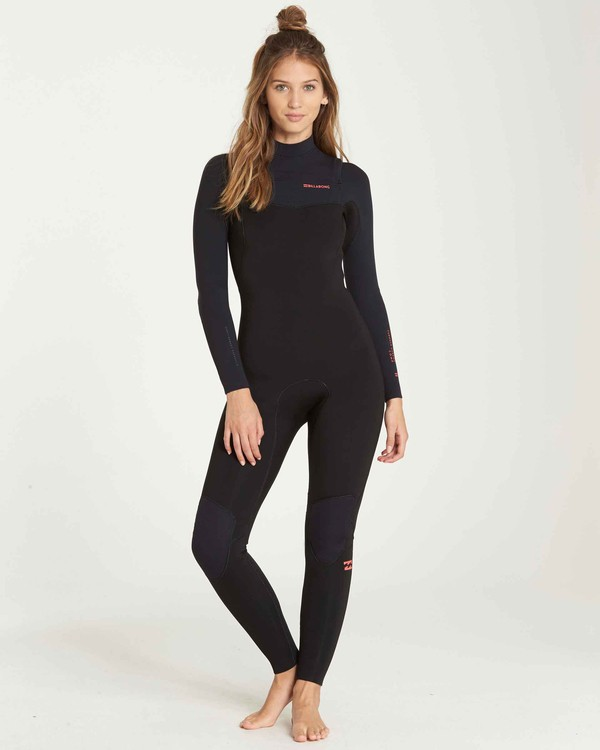 0 3/2 Furnace Carbon Chest Zip Fullsuit Black JWFUQBC3 Billabong