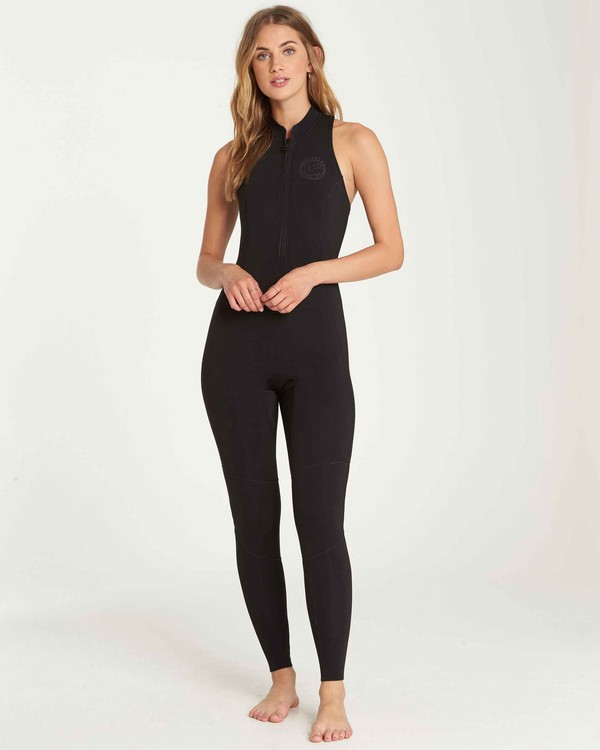 0 2mm Salty Jane Sleeveless Fullsuit Black JWFUQBSJ Billabong