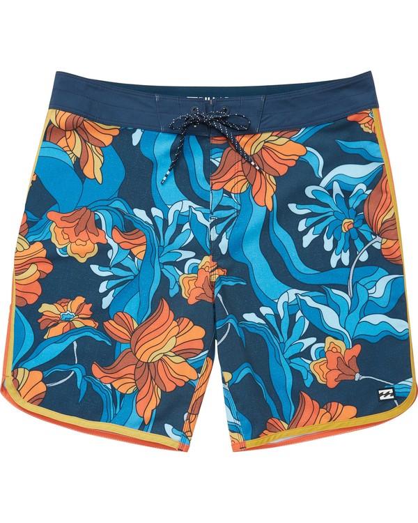 0 Boys' (2-7) 73 Lo Tides Lineup Boardshorts Orange K147NBST Billabong