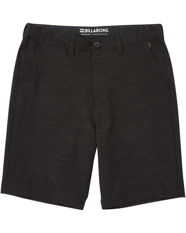 0 Boys' (2-7) Crossfire X Slub Shorts Black K202TBCS Billabong