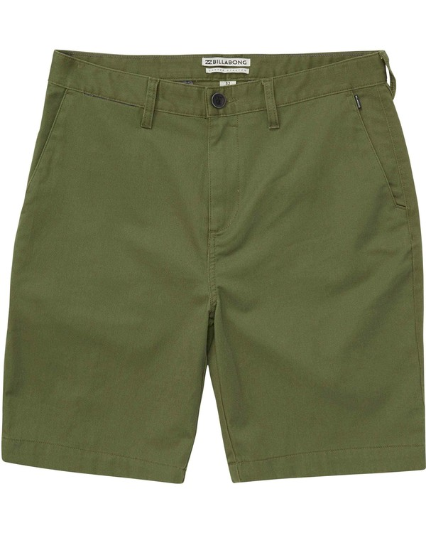 0 Boys' (2-7) Carter Stretch Shorts Green K231NBCS Billabong