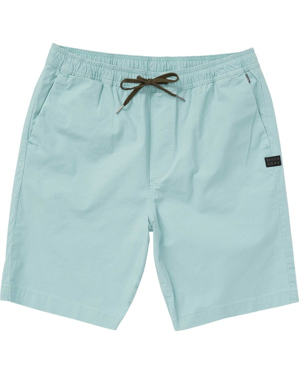 0 Boys' (2-7) Larry Layback Shorts  K235PBLA Billabong