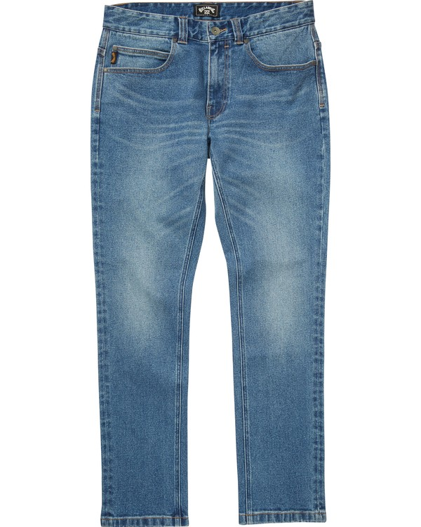 0 Boys' (2-7) Outsider Jeans Blue K330QBOJ Billabong