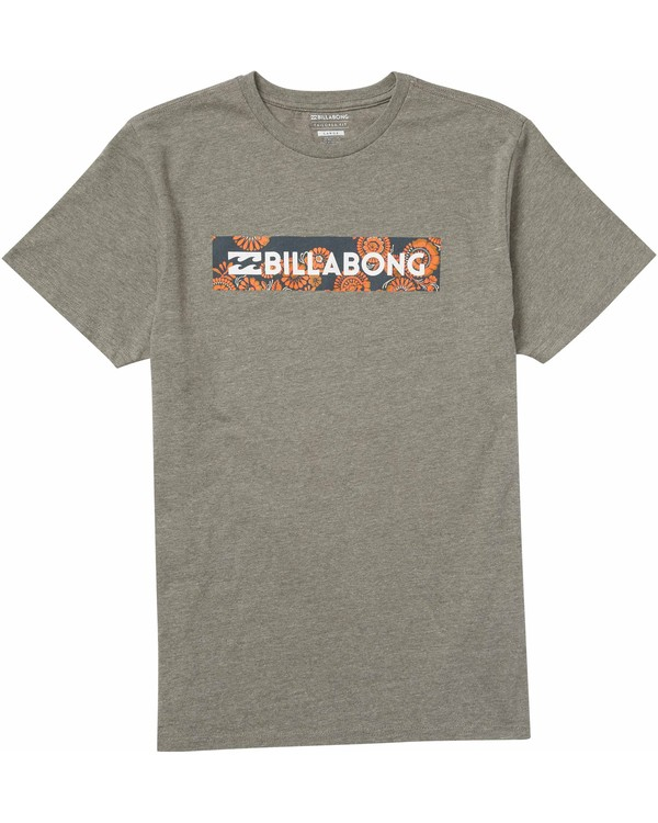 0 Boys' (2-7) Unity Block Tee Grey K401LUNI Billabong