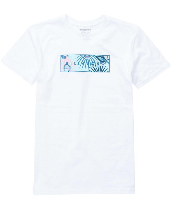 0 Boys' (2-7) United Tee White K401NBUN Billabong