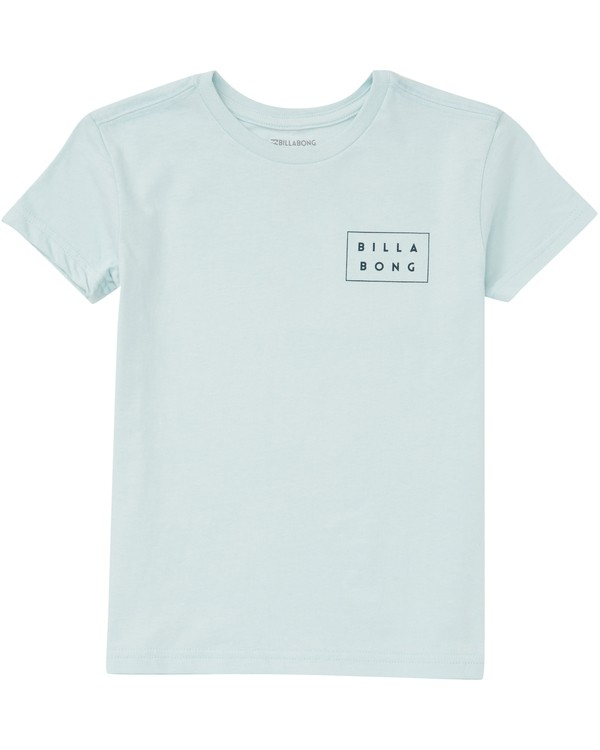 0 Boys' (2-7) Die Cut Fill Tee Blue K401PBDF Billabong