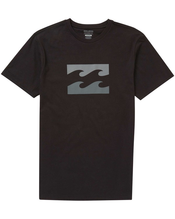 0 Boys' (2-7) Wave Tee Black K401PBWA Billabong