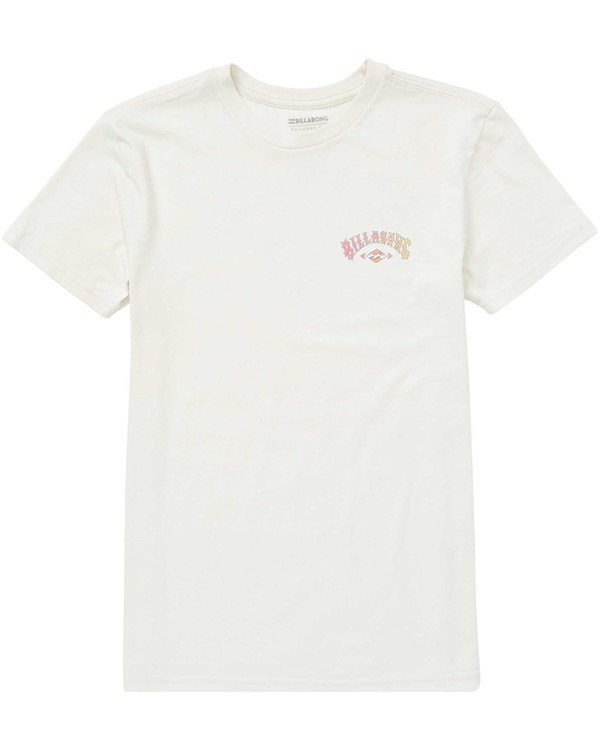 0 Boys' (2-7) Arch Tee Brown K401QBAR Billabong