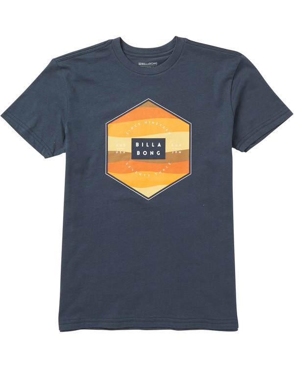 0 Kids' Access Fill Tee Shirt Blue K401SBAF Billabong
