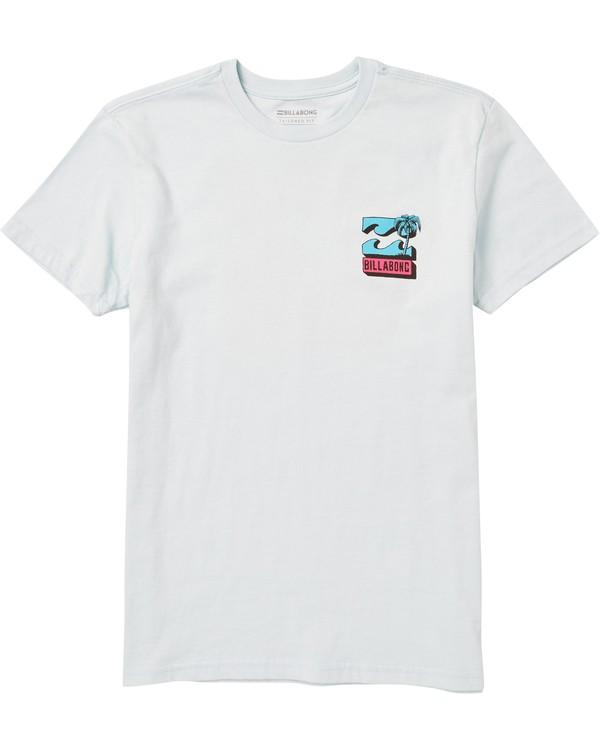 0 Kids' Bbtv Tee Shirt Blue K401SBBB Billabong