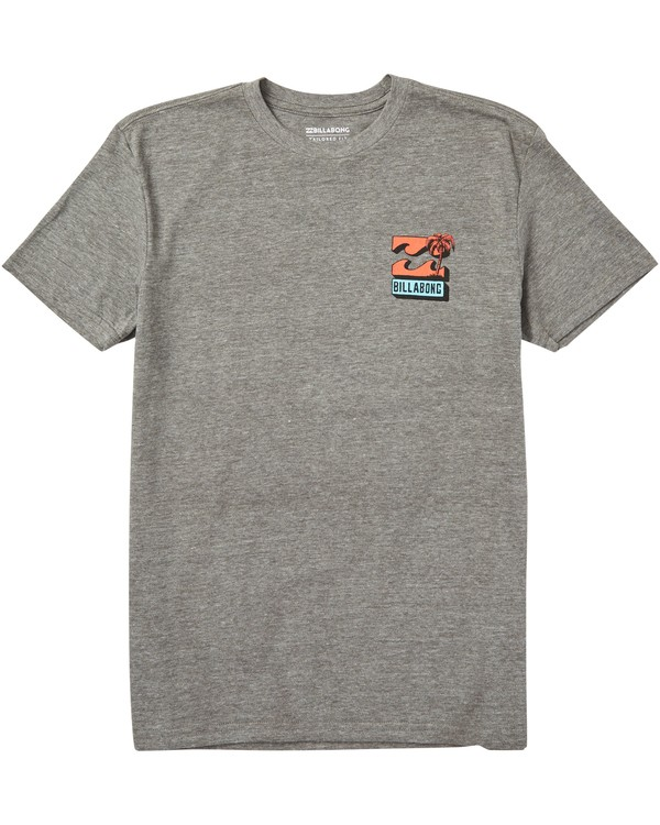 0 Kids' Bbtv Tee Shirt Grey K401SBBB Billabong