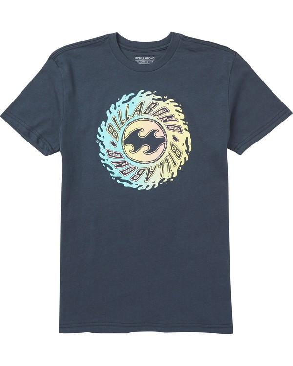 0 Kids' Ooze Tee Shirt Blue K401SBOO Billabong