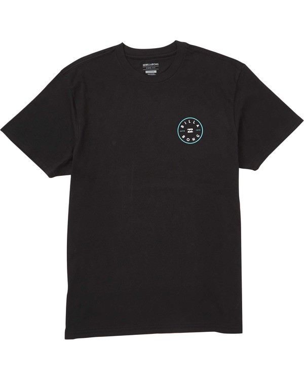 0 Boys' (2-7) Rotor Tee Black K404TBRO Billabong