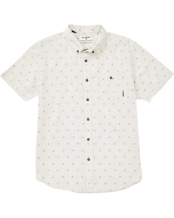0 Boys' (2-7) Sundays Mini Short Sleeve Shirt Grey K503TBSM Billabong