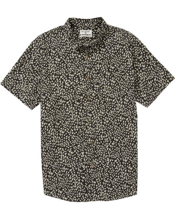 0 Boys' (2-7) Sundays Mini Short Sleeve Shirt Grey K508PBSM Billabong