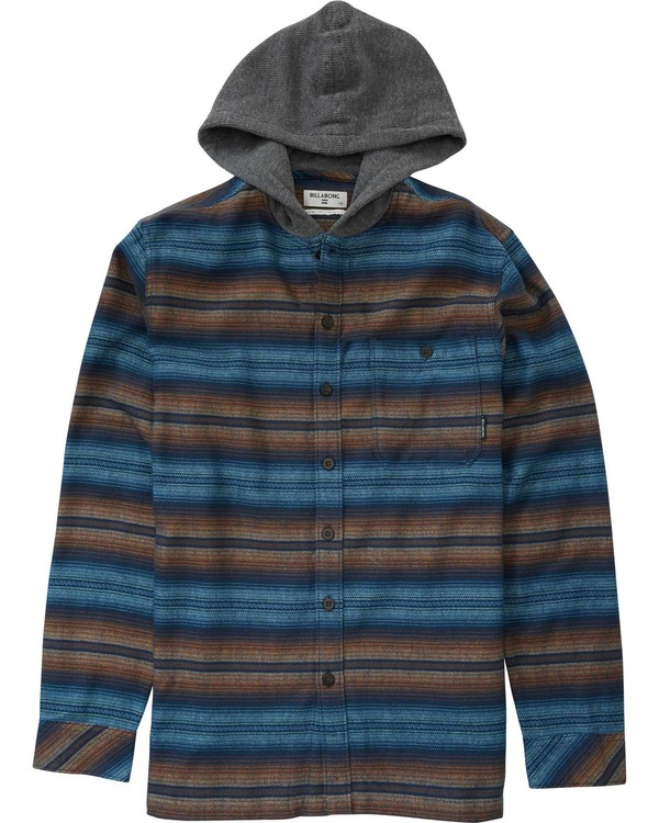 0 Boys' (2-7) Baja Flannel  K511LBAJ Billabong