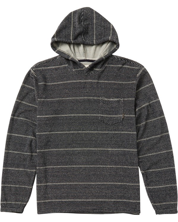 0 Boys' (2-7) Flecker Looped Pullover Hoodie Blue K640QBFL Billabong