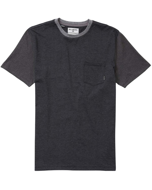 0 Boys' (2-7) Zenith Short Sleeve Crew Grey K902JZEN Billabong