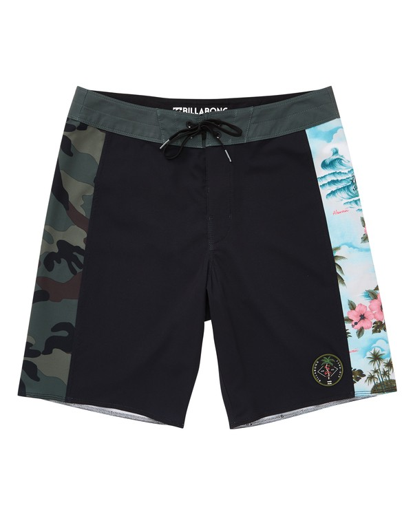 0 D Bah Pro Boardshorts Black M121TBSP Billabong