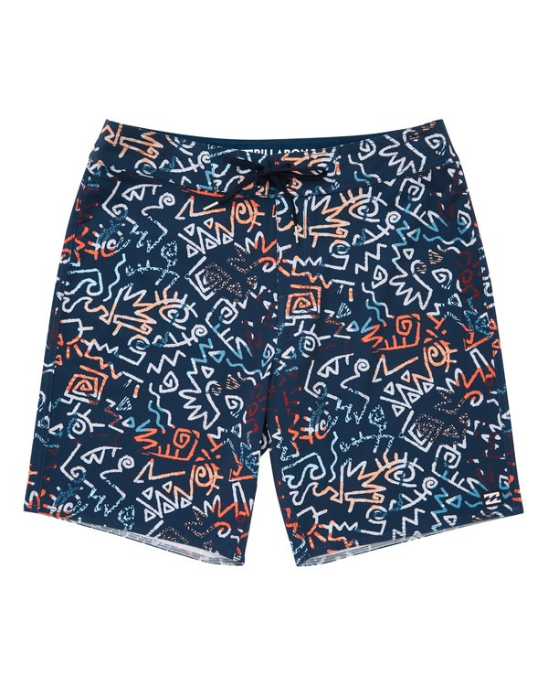 0 Sundays Pro Boardshorts Blue M123TBSU Billabong