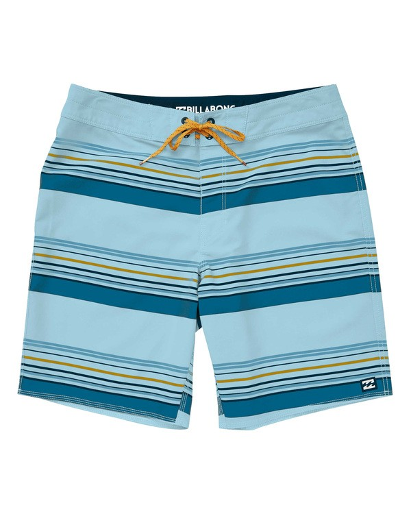 0 Sundays Stripe Pro Boardshorts Blue M124TBSS Billabong