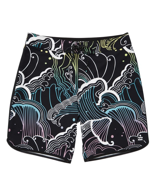 0 73 Lineup Pro Boardshorts Black M126TBSL Billabong