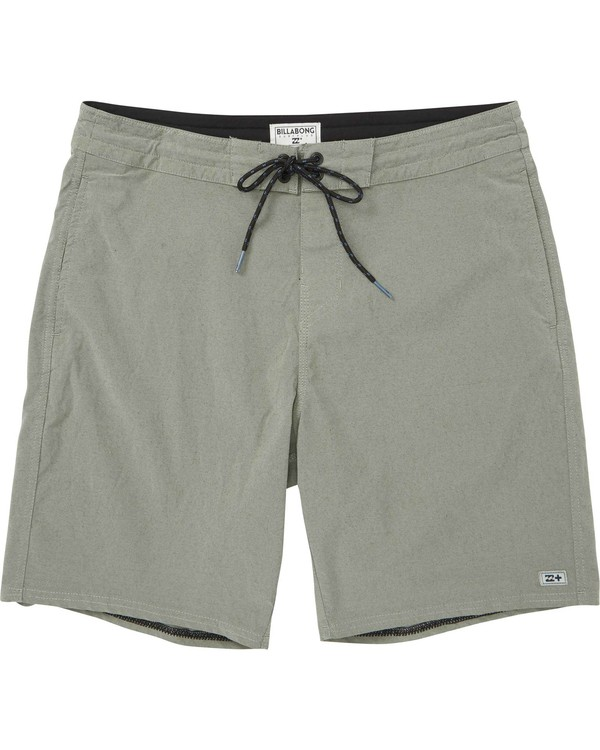 0 All Day Lo Tide Overdye Boardshorts Green M128MSWS Billabong