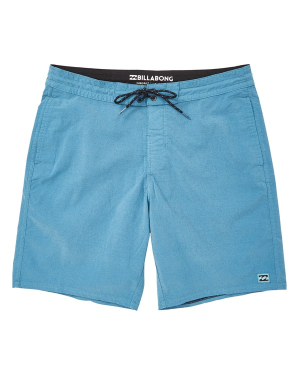 0 Wave Washed Lo Tides Boardshorts Blue M128QBWS Billabong