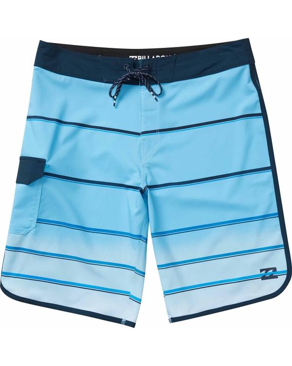 0 73 X Stripe Boardshorts Blue M129NBSS Billabong