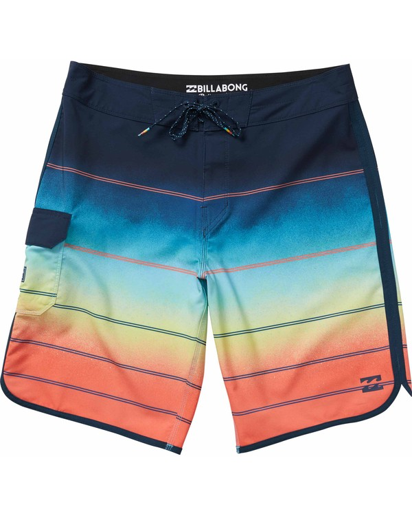 0 73 X Stripe Boardshorts Orange M129NBSS Billabong