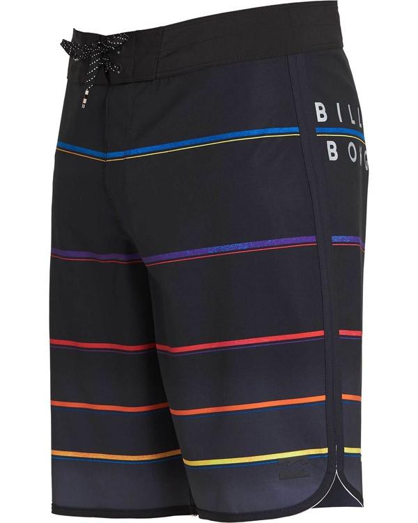 0 73 X Stripe Boardshorts Black M129NBSS Billabong