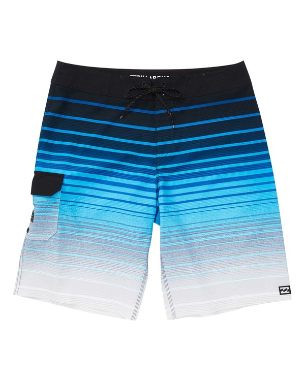 0 All Day Stripe Pro Boardshorts Blue M133TBAS Billabong
