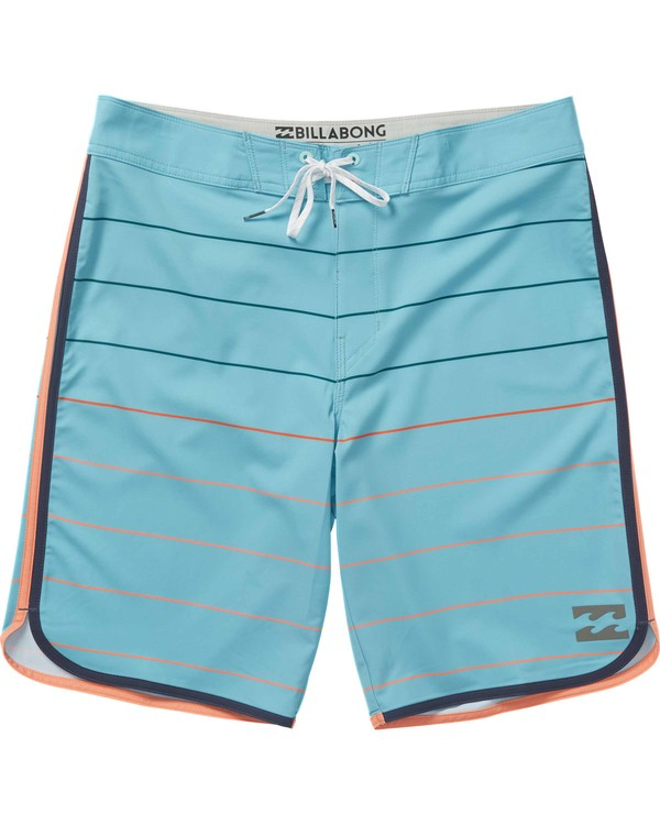 0 73 X Stripe Boardshorts Blue M138JSTX Billabong