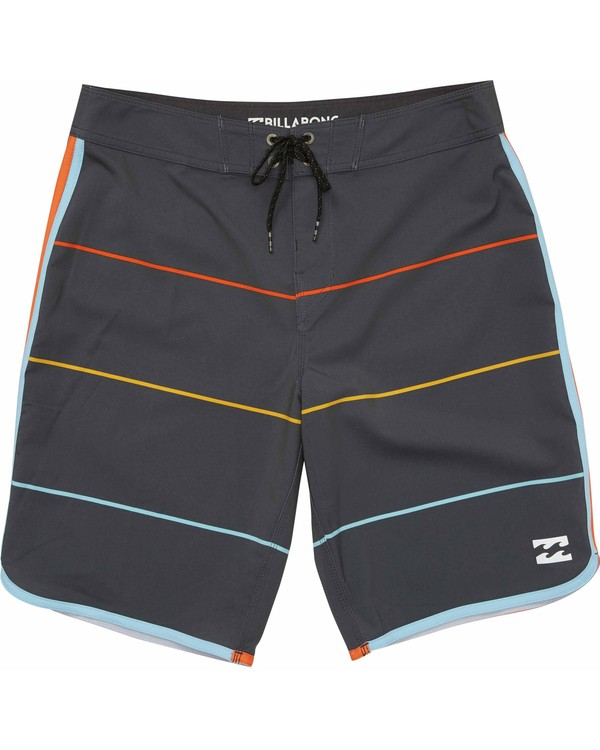 0 73 X Stripe Boardshorts Grey M138LSTX Billabong