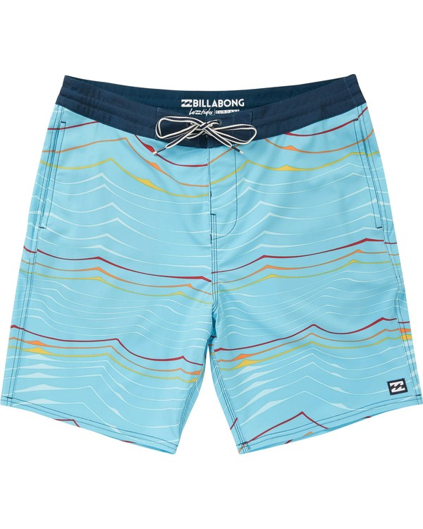 0 Sundays Lo Tides Boardshorts Blue M142NBSU Billabong
