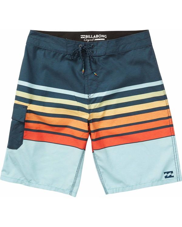 0 All Day OG Stripe Boardshorts Orange M165NBAS Billabong