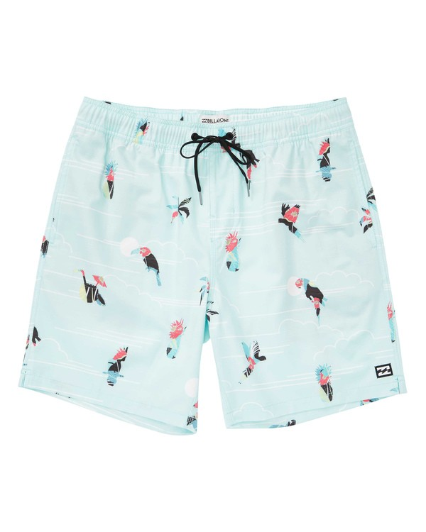 0 Sundays Layback Boardshorts Green M180TBSU Billabong