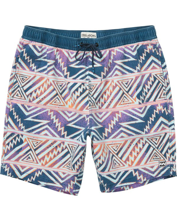 0 Sundays Layback Boardshorts Purple M182NBSU Billabong