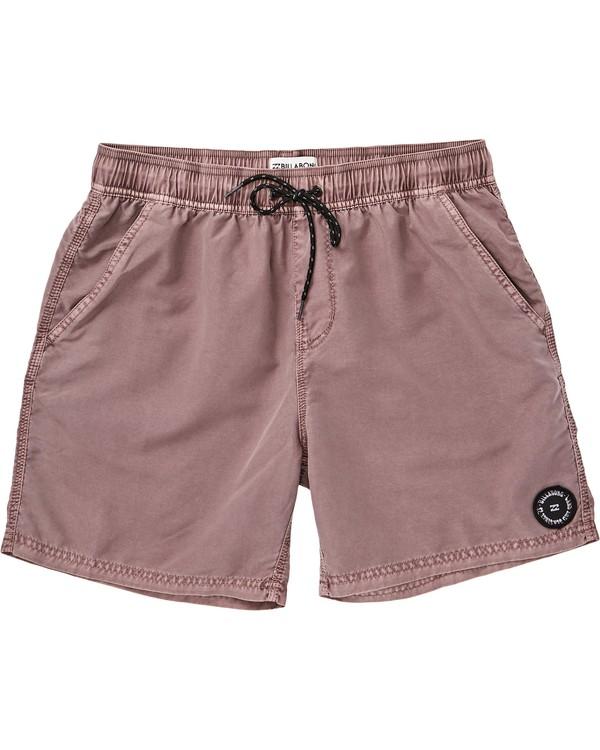 0 All Day Overdye Layback Boardshorts Pink M182QBOE Billabong