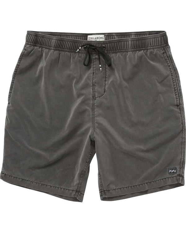 0 All Day Layback Boardshorts Black M184QNAL Billabong