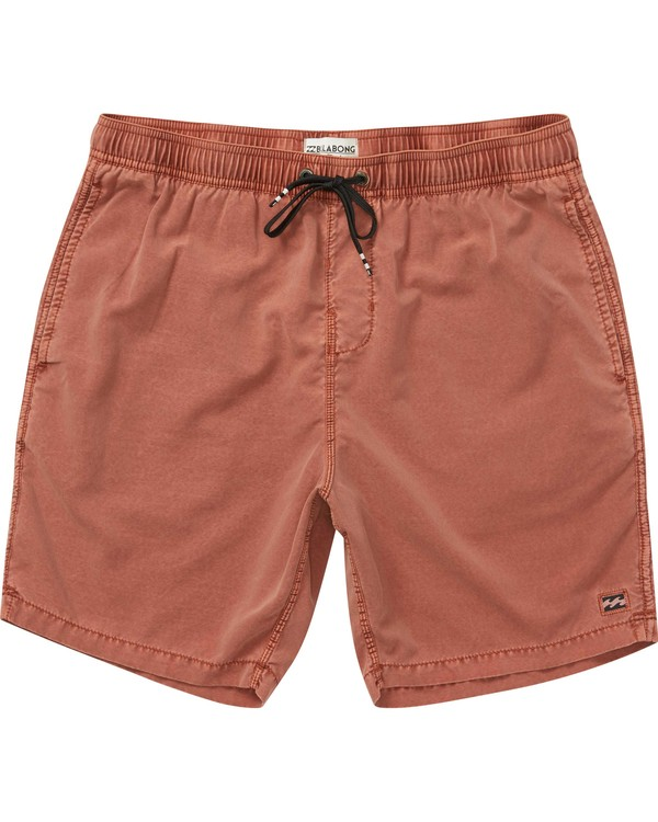 0 All Day Layback Boardshorts Brown M184QNAL Billabong
