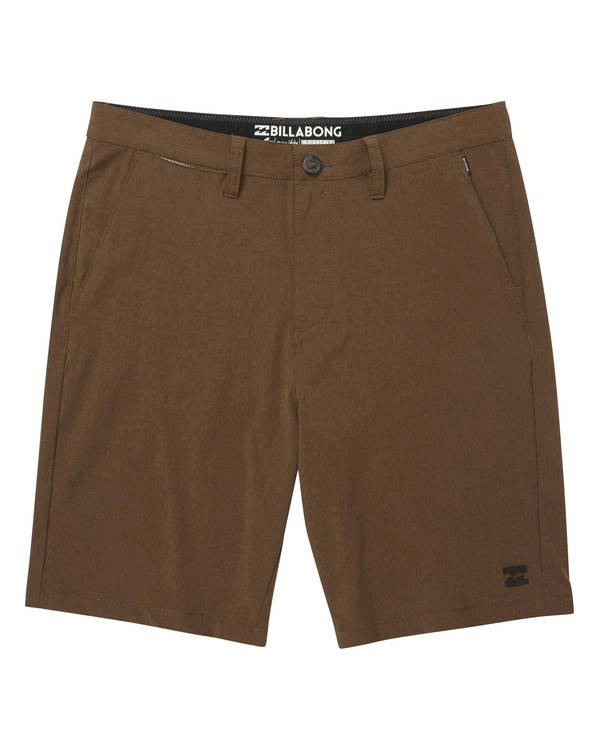 0 Crossfire X Mid Length Submersibles Shorts Green M201QBCM Billabong