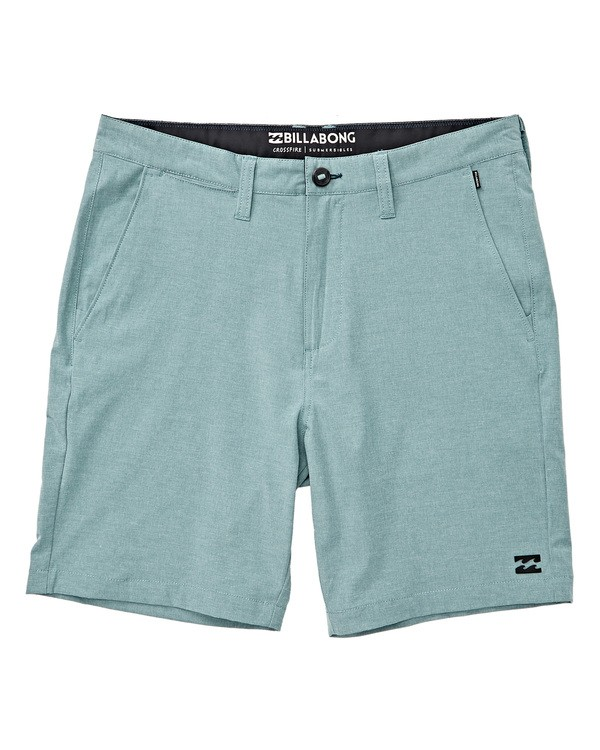 0 Crossfire X Mid Length Submersibles Shorts Blue M201TBXE Billabong