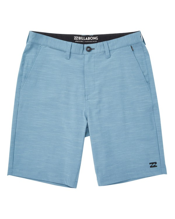 0 Crossfire X Slub Submersibles Shorts Blue M203NBCS Billabong