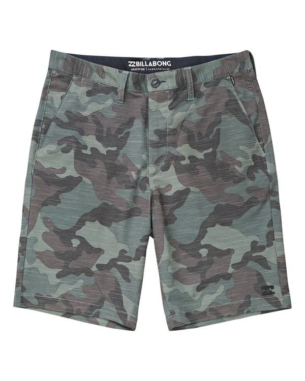0 Crossfire X Slub Submersibles Shorts Camo M203NBCS Billabong